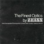 Каталог объективов Carl Zeiss (октябрь 1975г.)